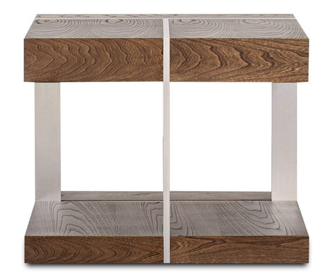 Polished modern Scandinavian design end table