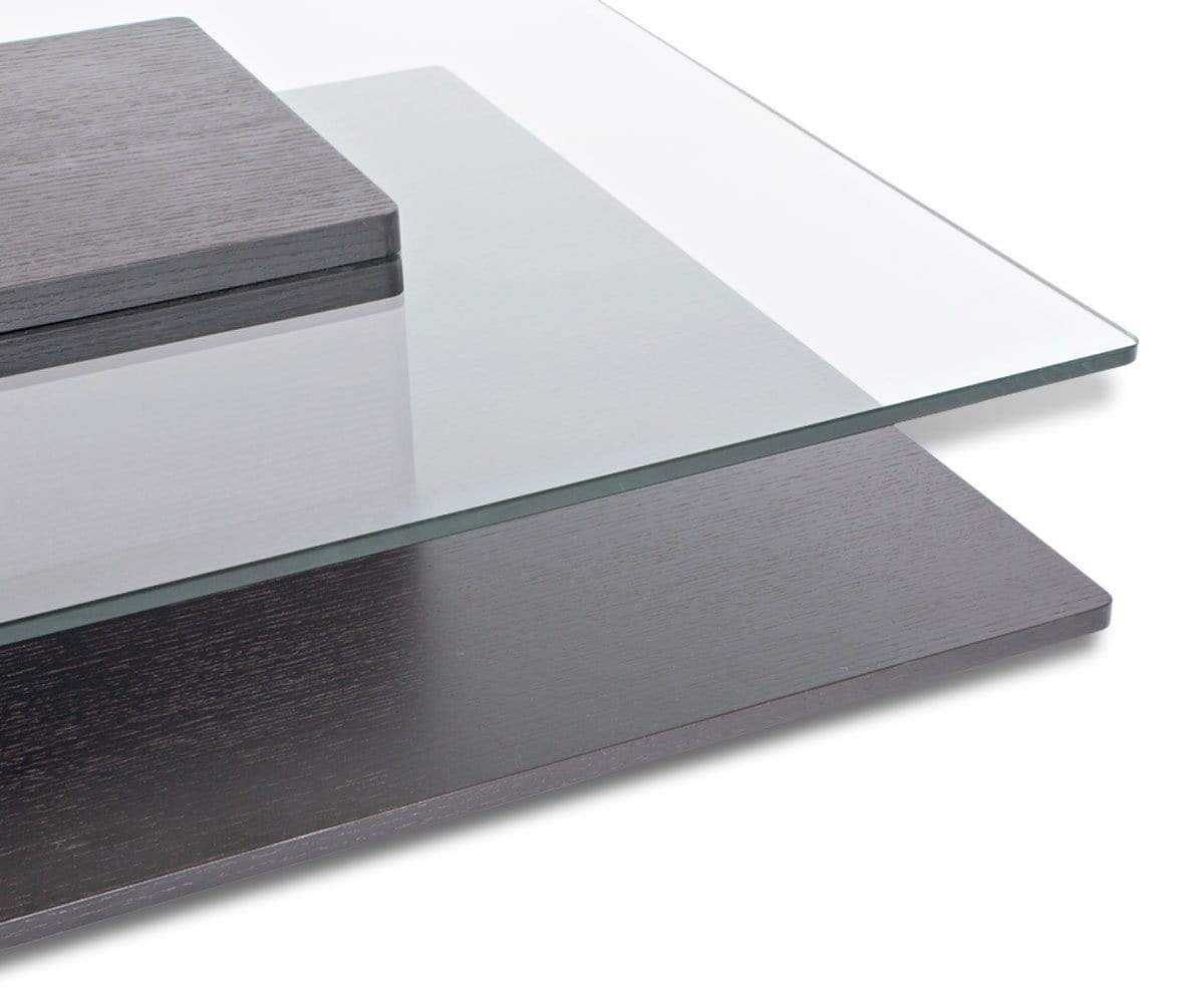 High quality crafted glass table design