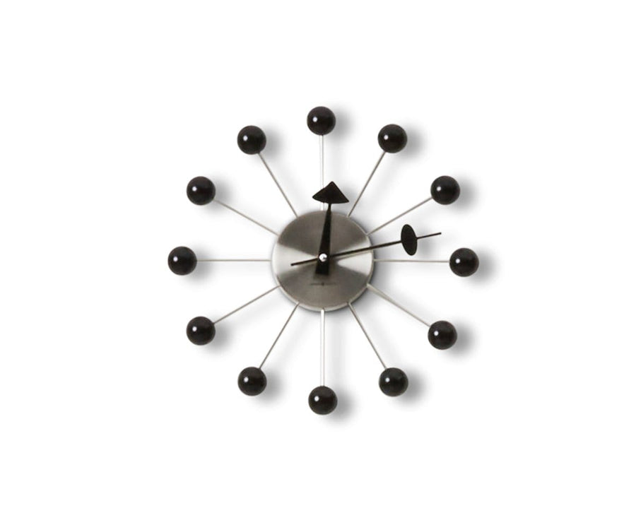 Ball Clock Wall Clock - Scandinavian Designs
