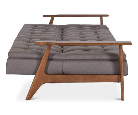 Contemporary style pillow-top plush daybed couch