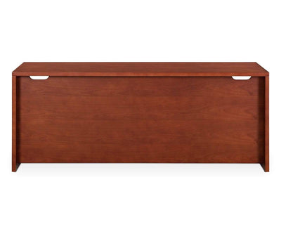 "Royal 71""W X 24""D Desk ROYAL CHERRY - Scandinavian Designs"
