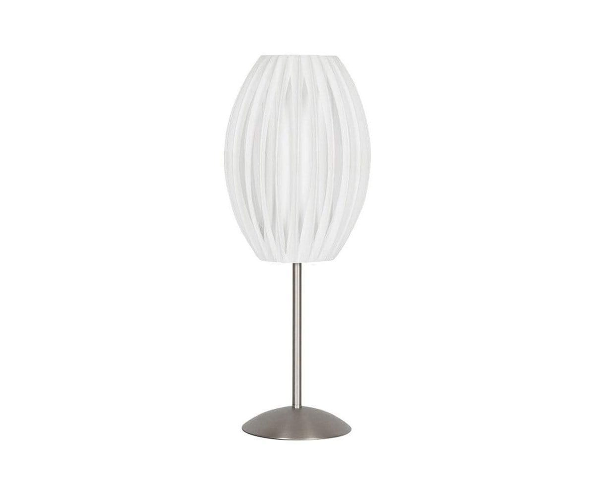 Unique contemporary sculptural table lamp