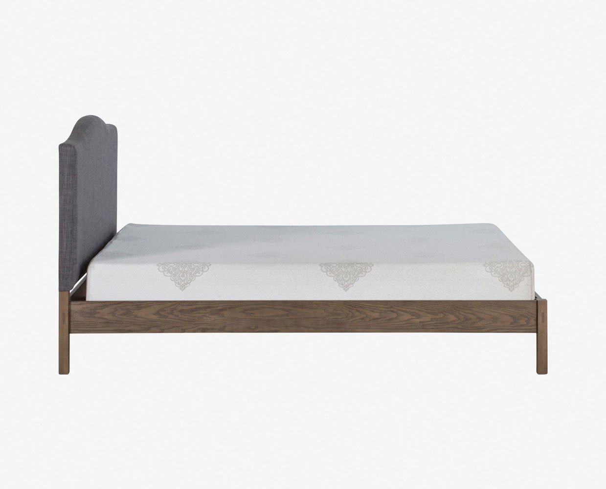 Classic timeless style nordic minimalist bed