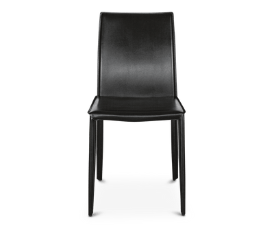 Bastian Dining Chair BLACK A304 - Scandinavian Designs
