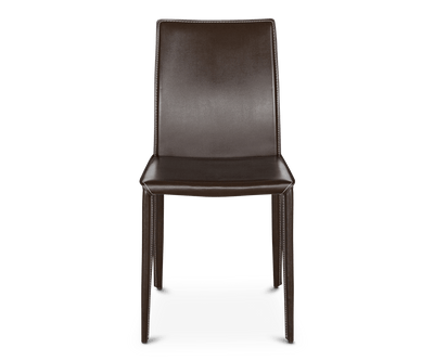 Bastian Dining Chair BROWN A312 - Scandinavian Designs