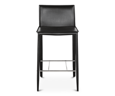 Bastian Counter Stool BLACK A304 - Scandinavian Designs