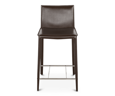 Bastian Counter Stool BROWN A312 - Scandinavian Designs