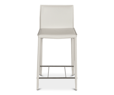Bastian Counter Stool WHITE A320 - Scandinavian Designs