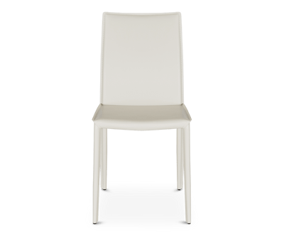 Bastian Dining Chair WHITE A320 - Scandinavian Designs