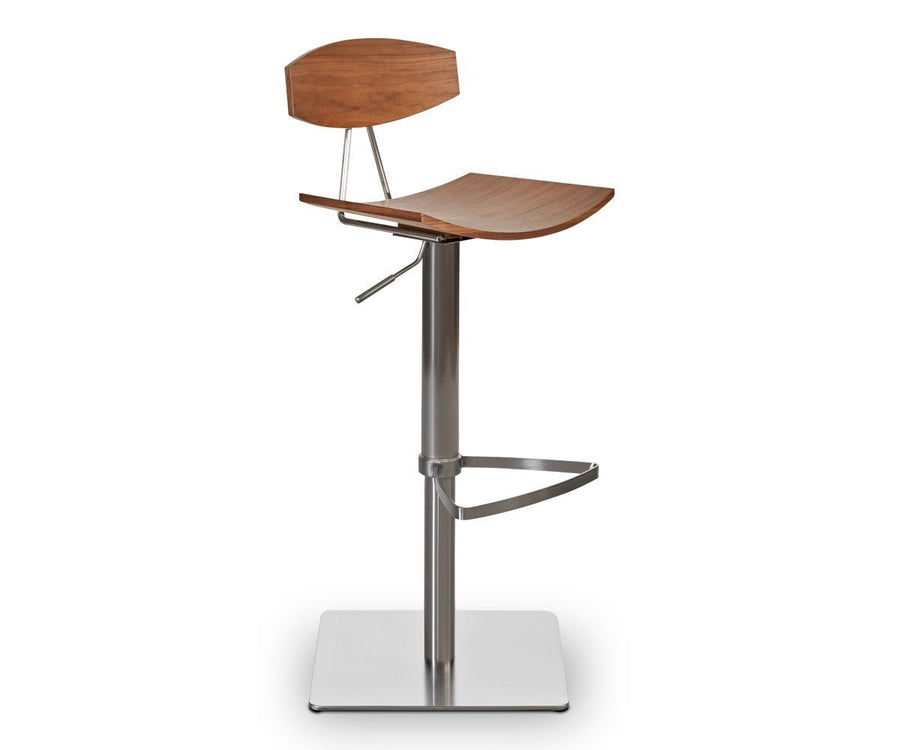 Lena Wood Barstool WALNUT - Scandinavian Designs