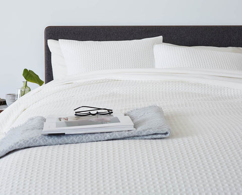 Cozy warm cotton duvet bedding set