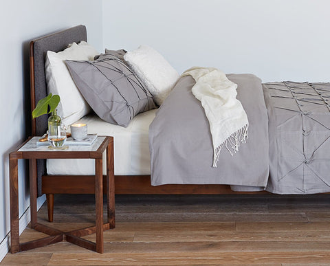 Mieto Bedding Set - Grey