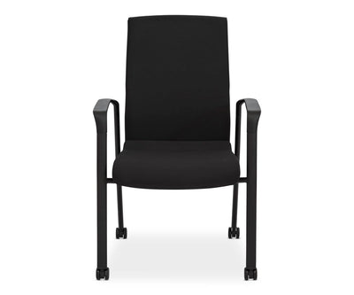 Rasmus Guest Chair BLACK - Scandinavian Designs