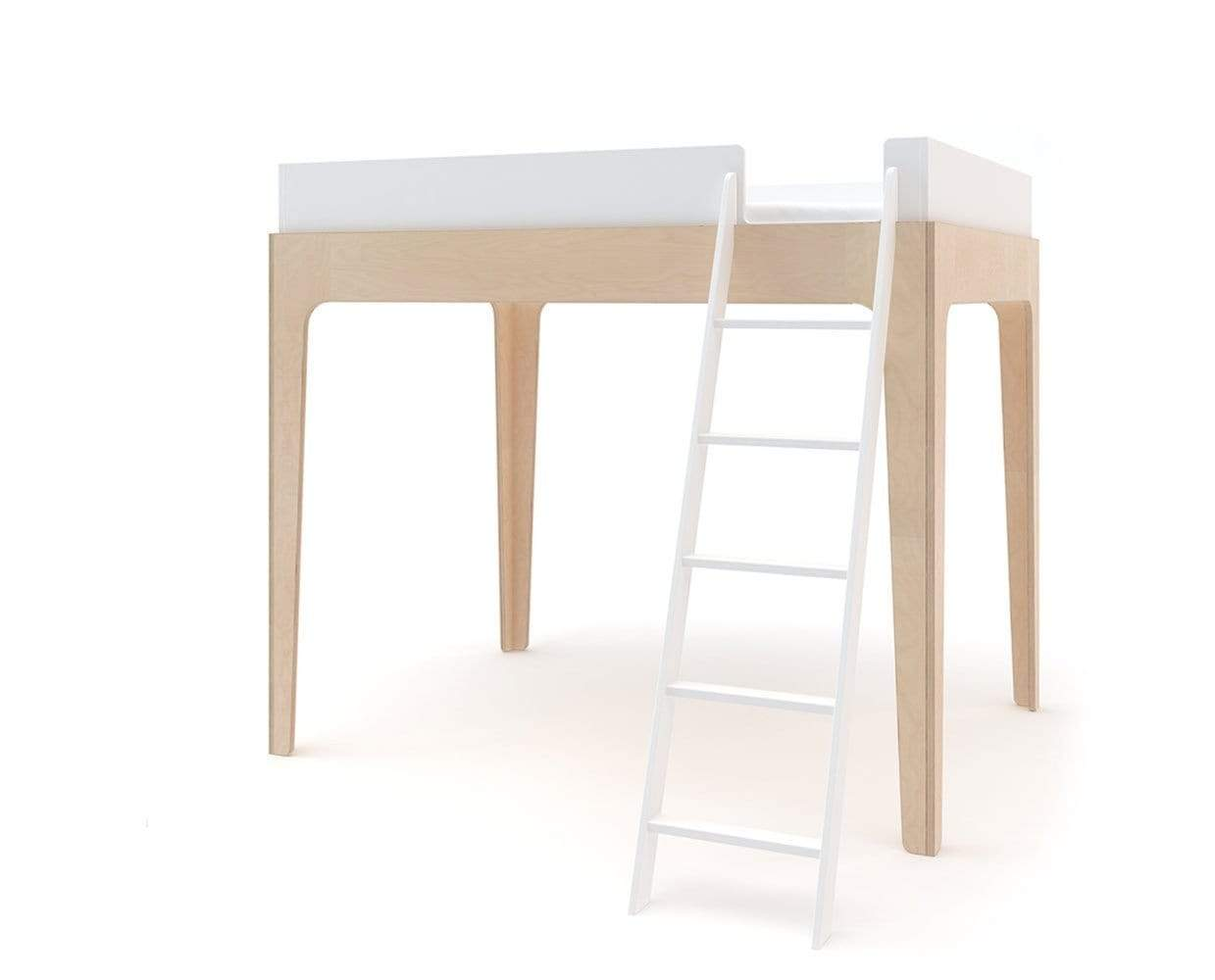 Perch Twin Loft Bed Birch Scandis