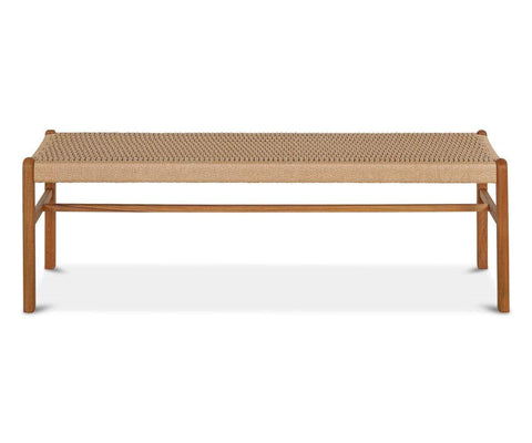 Durable modern Scandinavian living room dining bench