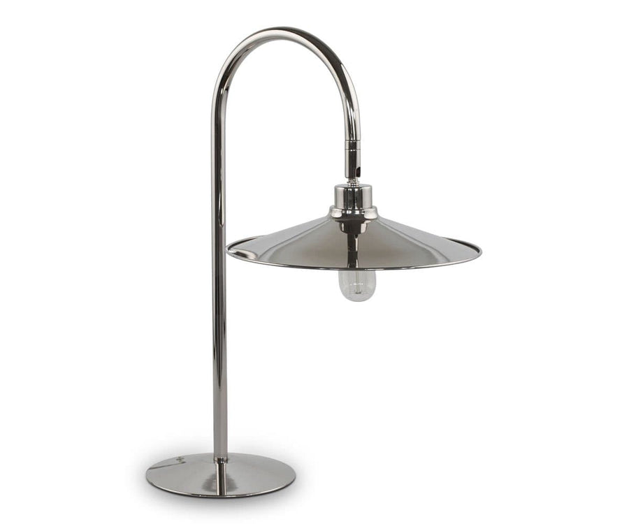 Skal Arch Desk Lamp - Nickel - Scandinavian Designs