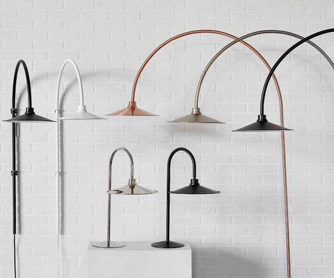 Skal Arch Wall Lamp - White