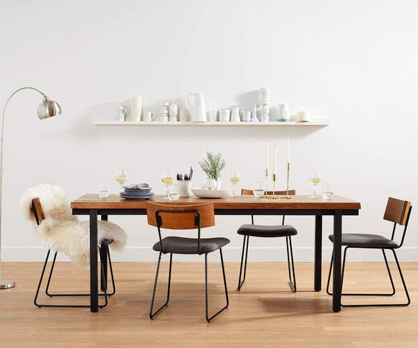 Scandinavian Style Dining Room Table: KARSTEN DINING TABLE