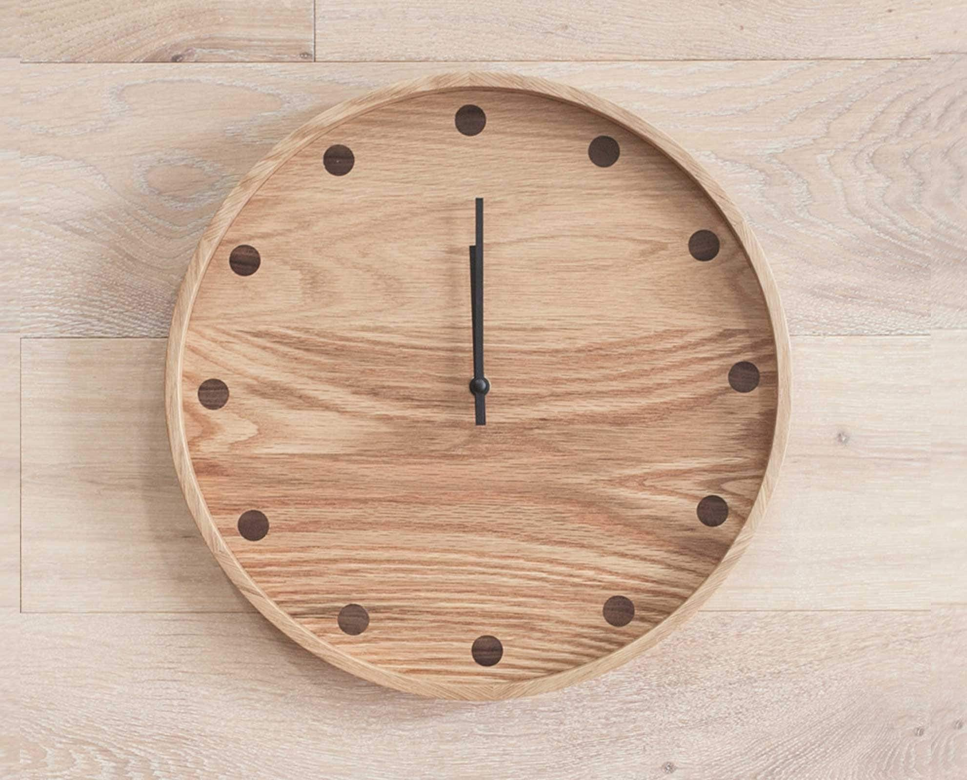 Circular dotted number clock