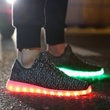 MENS APP BOOSTS SHOES (Black) - Rave All Night