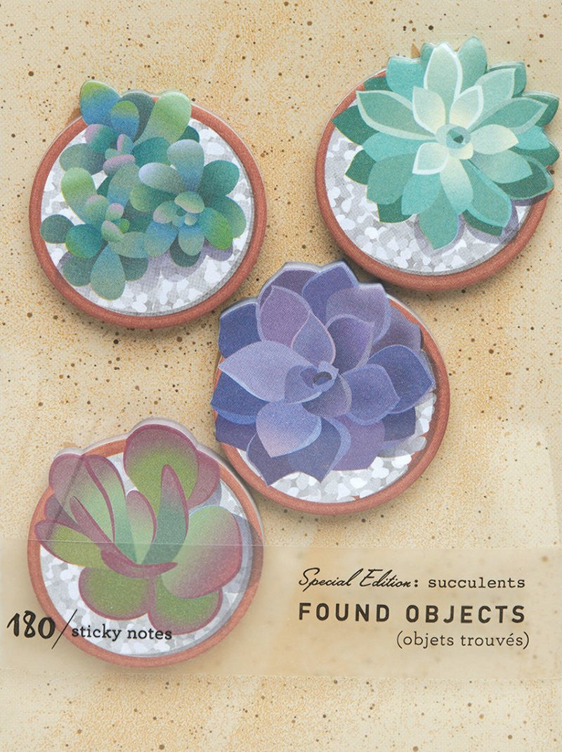 Found Objects Sticky Notes