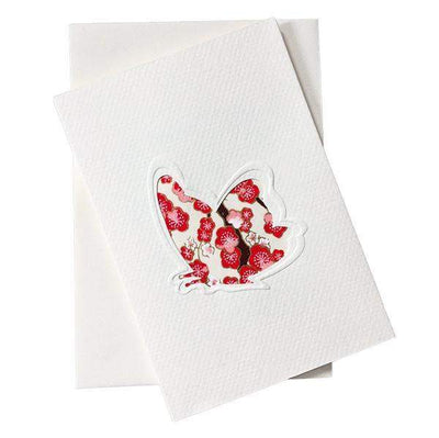 Cut Out Card (A6 - Butterfly), Card, Kami - Kami