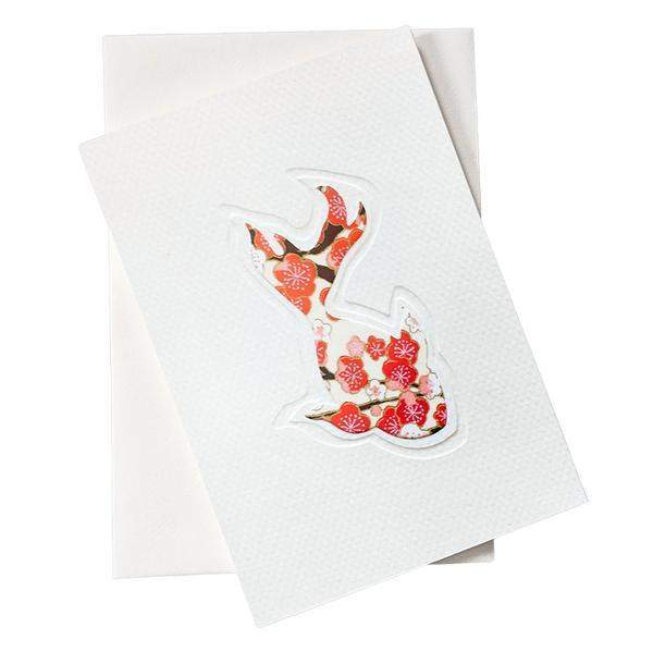 Cut Out Card (A6 - Fish)