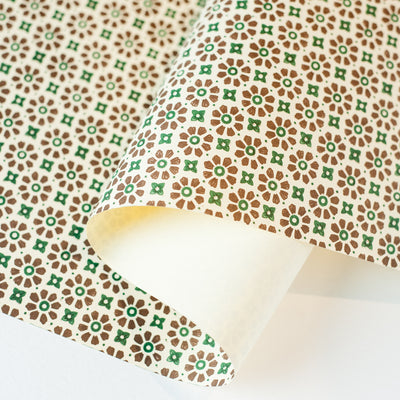 CV.Fl.BrG - Carta (Brown/Green) - Kami Paper