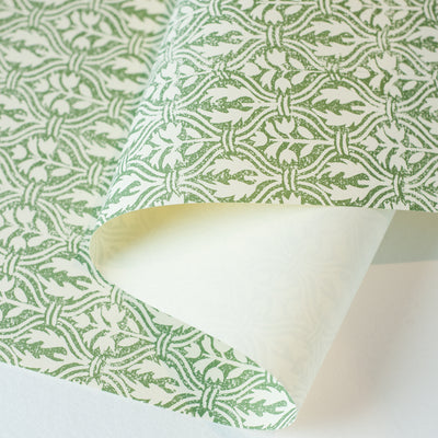 ITF - Flower (Green) - Kami Paper