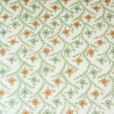 ITF410 - Flower (Blue/Green) - Kami Paper