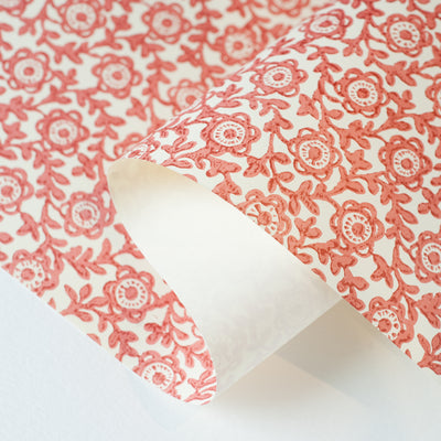 ITF4104 - Flower (Red) - Kami Paper