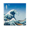 Microfibre Glasses Cloth (Hokusai Wave)