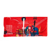 Microfibre Valour Glass Case (Red Abstract) - Kami Paper