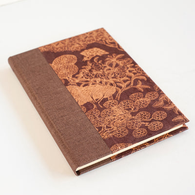Sewn Bound Journal Thin (Italian Ivory Insert A5 220x150mm) B4