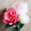 DIY Crepe Paper Rose kit