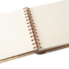 Spiral Guest Book Unlined Landscape - CH072 (210X260mm)