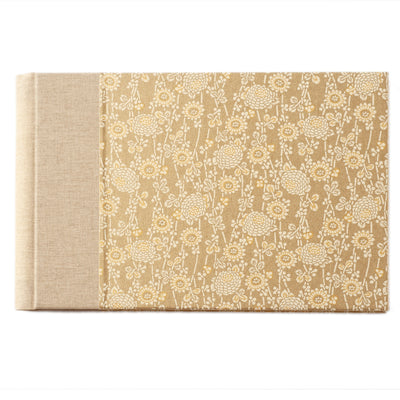 Spiral Guest Book Unlined Landscape - CH005 (170X260mm)