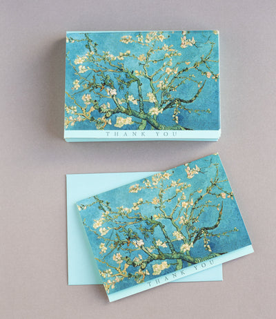 Almond Blossom Thank You Cards (Box Set)