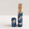 Pencil Tube | Blue Cranes