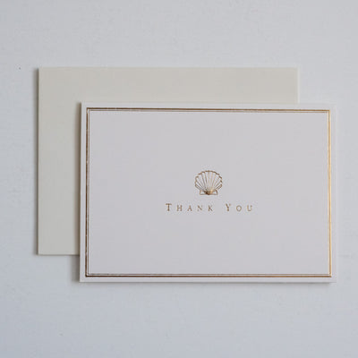 Note Cards | Box Set | Scallop Thank You