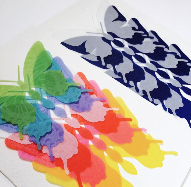 Kamiterior Butterflies - Multi Colour