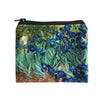 Microfibre Valour Coin Purse | Vincent Van Gogh | Irises