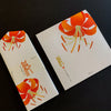 Midori Writing Set - Orange Lilies