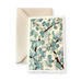 Ivory Card (A6) - 3 shades of blue blossom