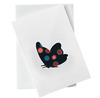 Cut Out Card (A6 - Butterfly_dotted), Card, Kami - Kami
