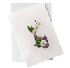 Cut Out Card (A6 - Fish_green and purple), Card, Kami - Kami