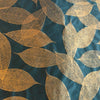 SPBoGDB: Screen Print Bodhi Leaf - (Gold on Dark Blue), Paper, Kami - Kami