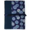 Art Wrap Spiral Unlined A5 (150mm x 210mm) - Blue circles - Kami Paper