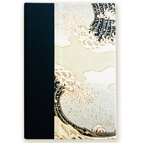 Art Ivory Hard Cover Journal (A5) -Hokusai