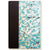 Art Ivory Hard Cover Journal (A5) -baby blue sakura on brown stems